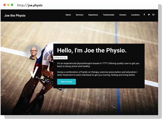 Physio Websites